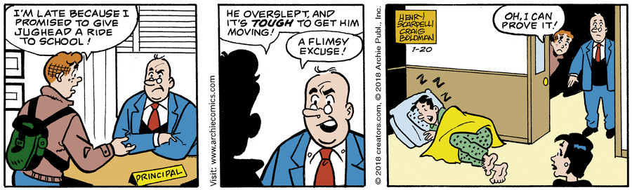 Archie for Jan 20, 2018