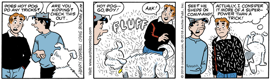 Archie for Feb 19, 2018