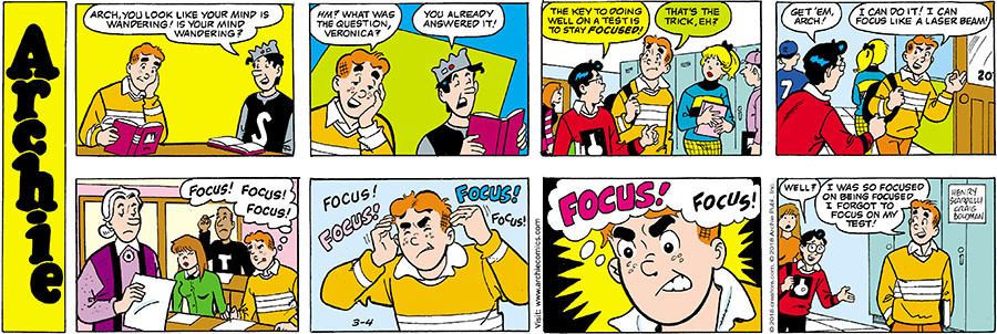 Archie for Mar 04, 2018
