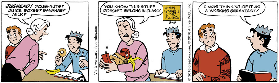 Archie for Mar 06, 2018