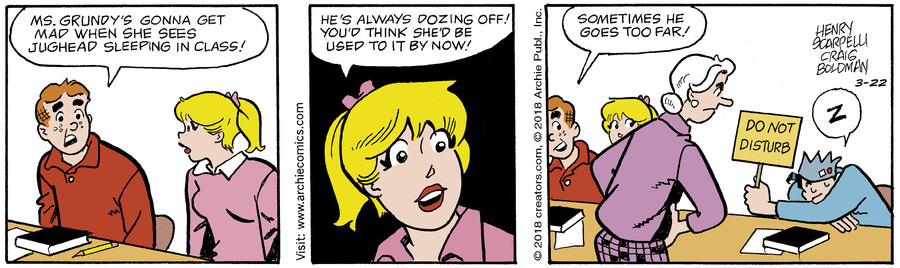 Archie for Mar 22, 2018