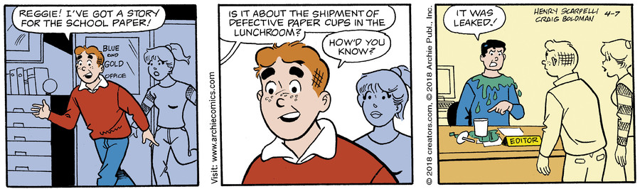 Archie for Apr 07, 2018