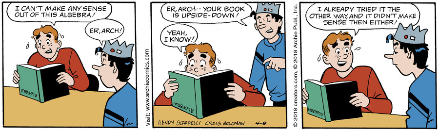 Archie for Apr 09, 2018