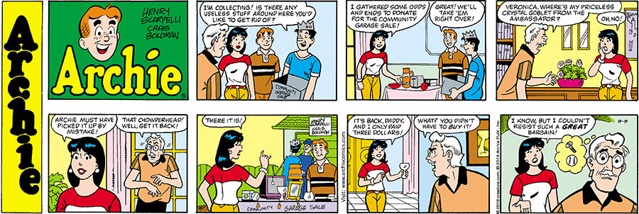 Archie for Sep 09, 2018
