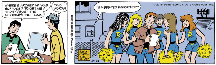 Archie for Oct 19, 2018