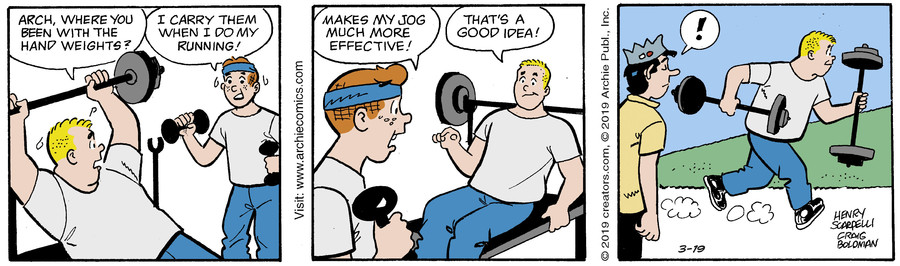 Archie for Mar 19, 2019