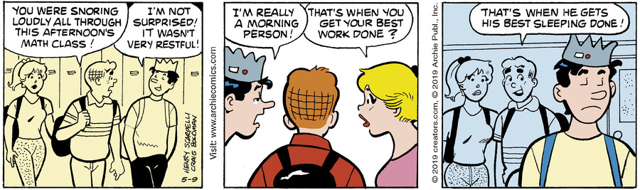 Archie for May 09, 2019