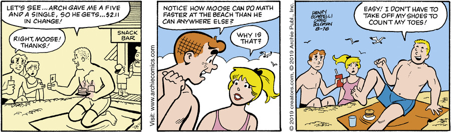 Archie for Aug 16, 2019