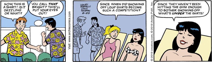 Archie for Aug 23, 2019