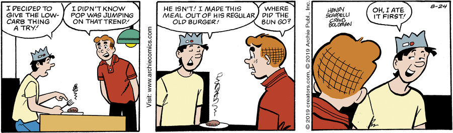Archie for Aug 24, 2019