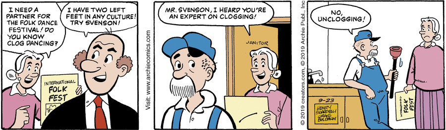 Archie for Sep 23, 2019
