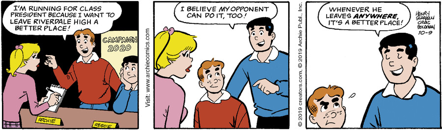 Archie for Oct 09, 2019