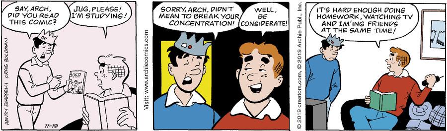 Archie for Nov 19, 2019