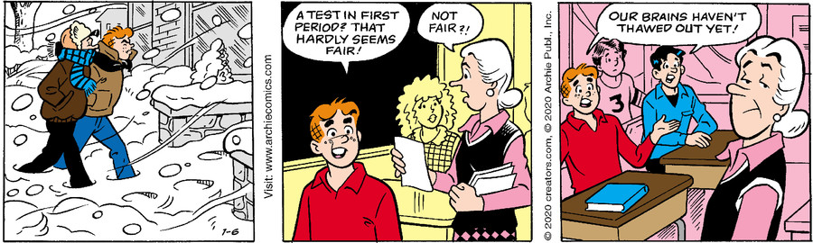 Archie for Jan 06, 2020