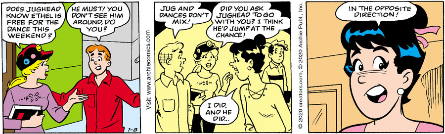 Archie for Jan 08, 2020
