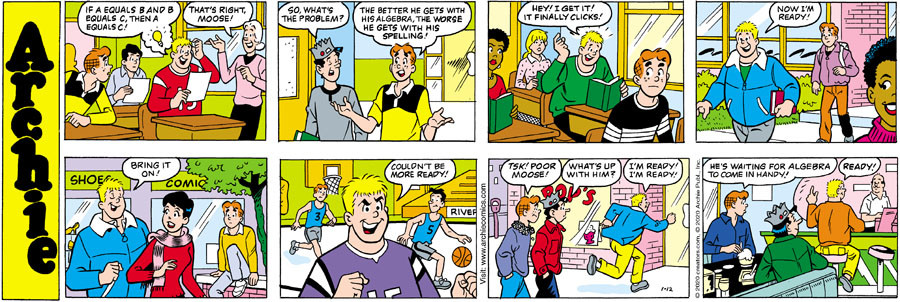 Archie for Jan 12, 2020