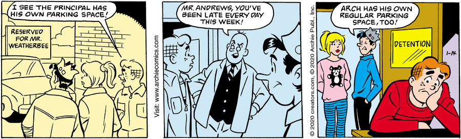 Archie for Jan 14, 2020