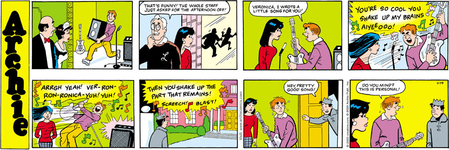 Archie for Jan 19, 2020