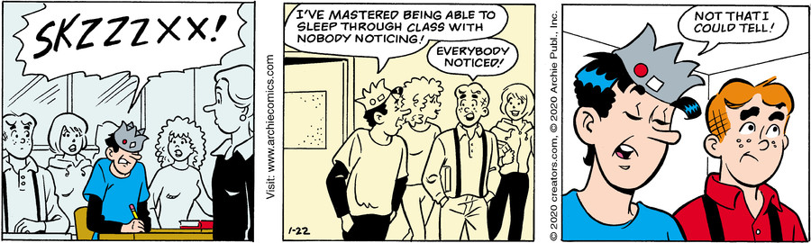 Archie for Jan 22, 2020