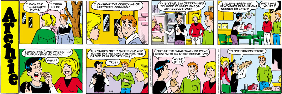 Archie for Jan 26, 2020