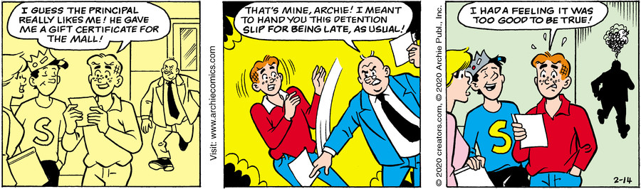 Archie for Feb 14, 2020