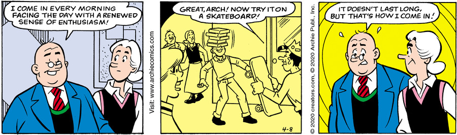 Archie for Apr 08, 2020