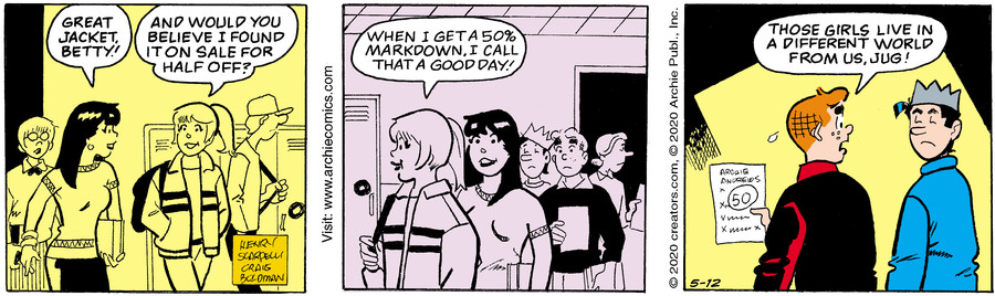 Archie for May 12, 2020