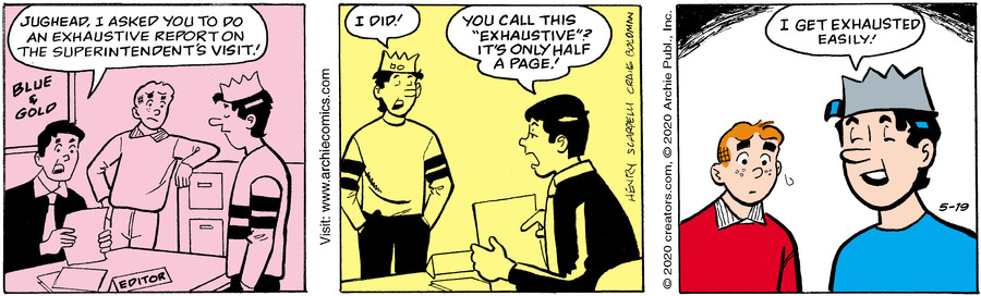 Archie for May 19, 2020