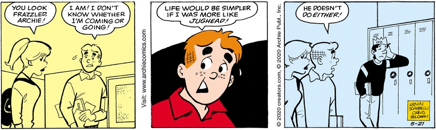 Archie for May 21, 2020