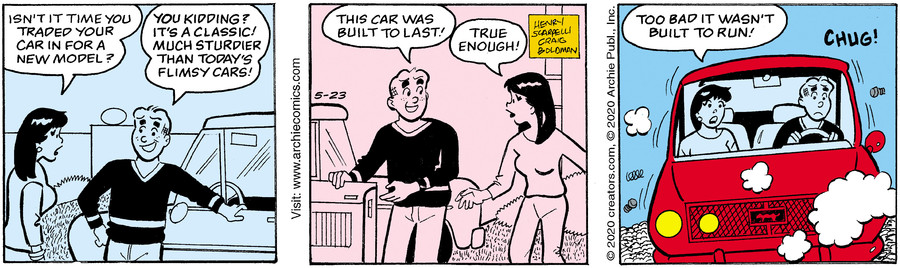 Archie for May 23, 2020