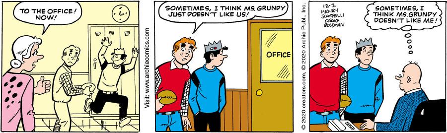 Archie for Dec 02, 2020