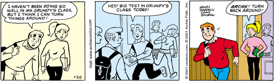 Archie for Jan 20, 2021