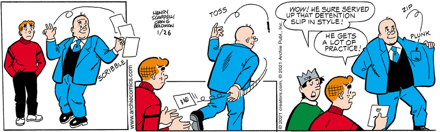 Archie for Jan 26, 2021