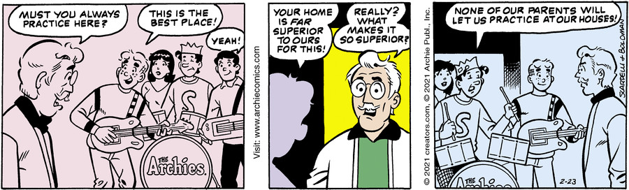 Archie for Feb 23, 2021