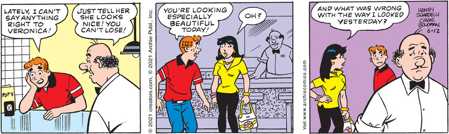 Archie for Jun 12, 2021