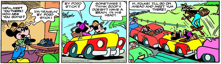 Mickey Mouse for May 26, 2014