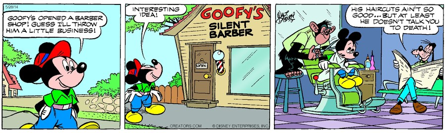 Mickey Mouse for May 28, 2014