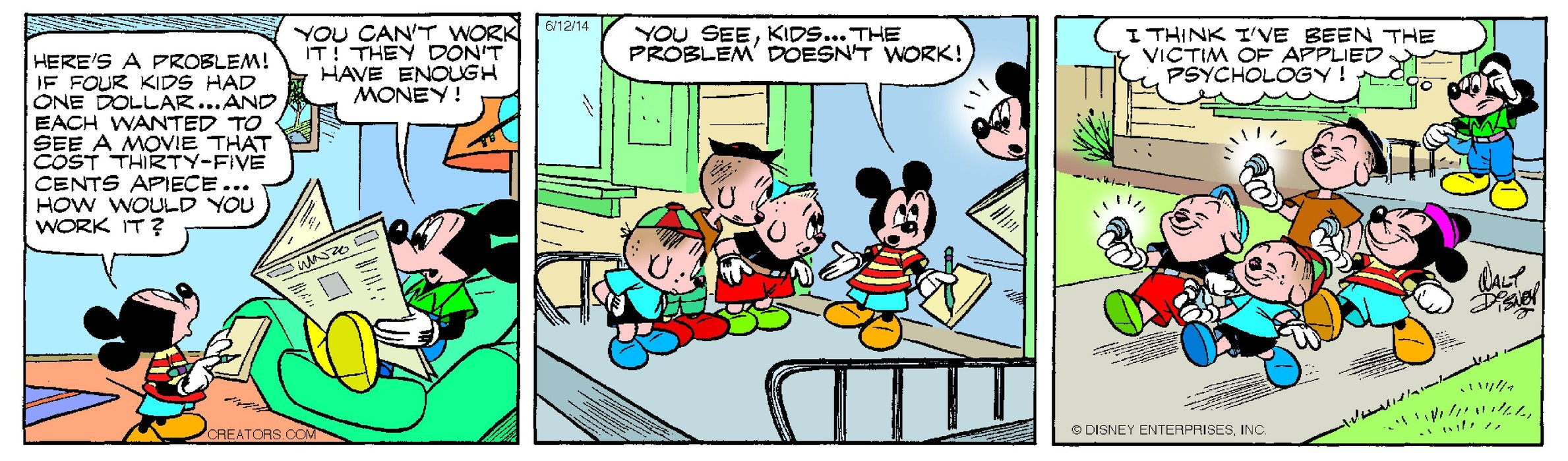 Mickey Mouse for Jun 12, 2014