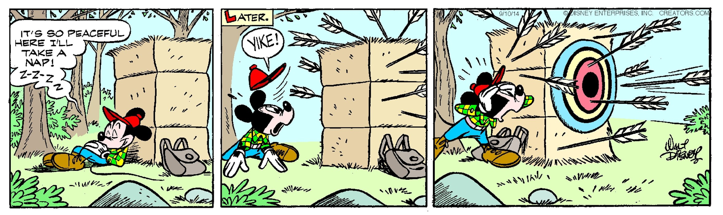 Mickey Mouse for Sep 10, 2014
