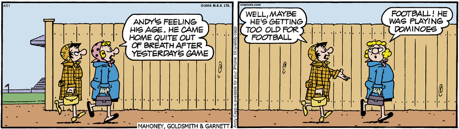 Andy Capp for Apr 21, 2014