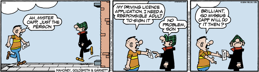 Andy Capp for Jul 25, 2014