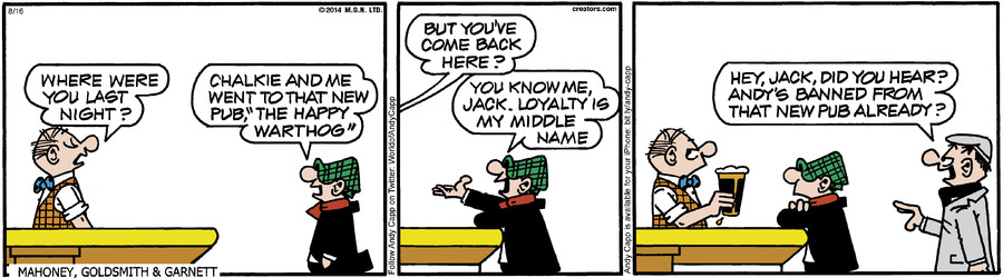 Andy Capp for Aug 16, 2014