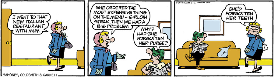 Andy Capp for Sep 26, 2016