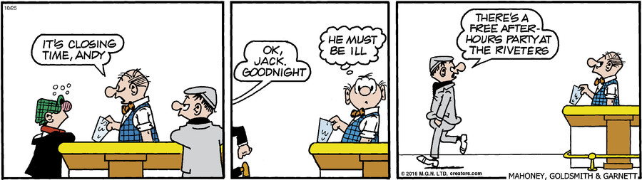 Andy Capp for Oct 25, 2016