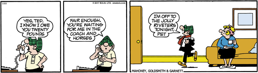 Andy Capp for Feb 20, 2017
