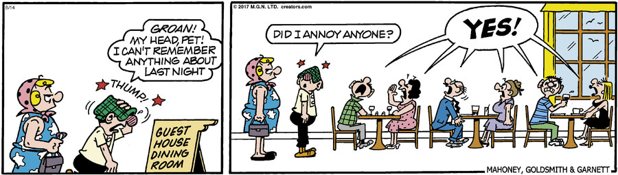 Andy Capp for Aug 14, 2017