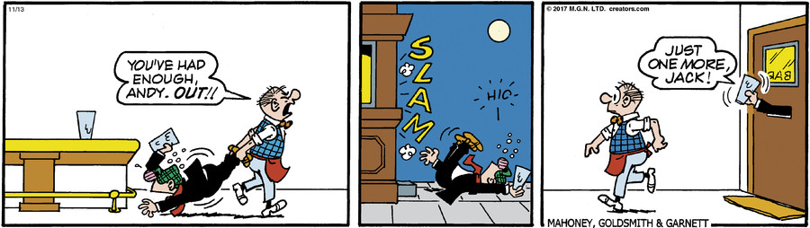 Andy Capp for Nov 13, 2017 for 11/13/2017