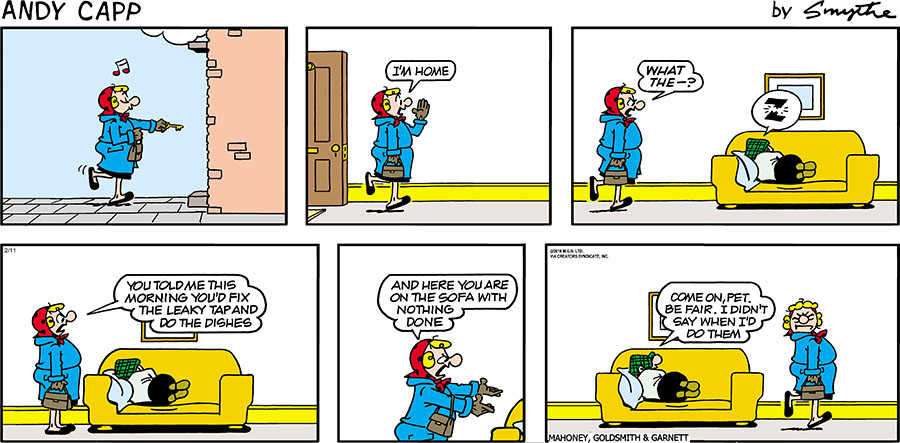 Andy Capp for Feb 11, 2018
