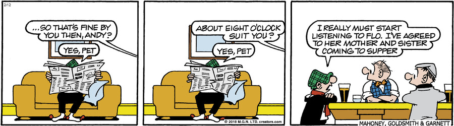 Andy Capp for Feb 12, 2018