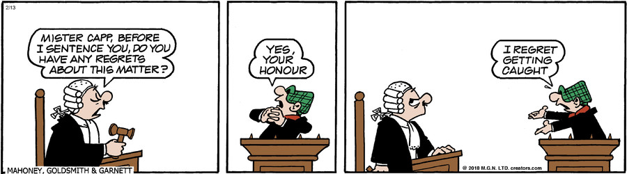 Andy Capp for Feb 13, 2018